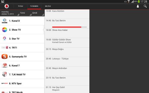Vodafone TV Resimleri