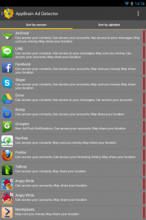 AppBrain Ad Detector Resimleri