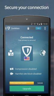 ZenMate Security & Privacy VPN Resimleri