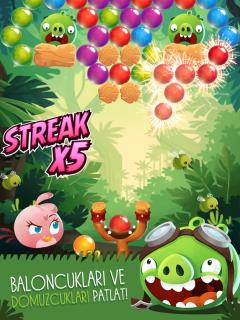 Angry Birds POP Bubble Shooter Resimleri
