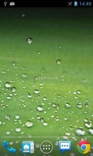 Galaxy S3 Drop Live Wallpaper Resimleri