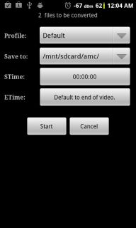 Video Converter Android Resimleri