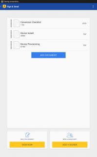 DocuSign - Sign & Send Docs Resimleri