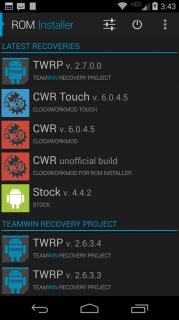 ROM Installer Resimleri