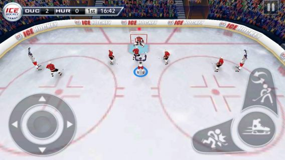 Buz Hokeyi 3D - Ice Hockey Resimleri