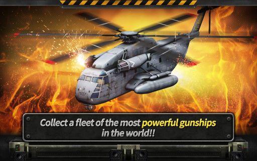 GUNSHIP BATTLE : Helicopter 3D Resimleri
