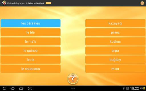 Fransızca Öğrenme 6000 Kelime Resimleri