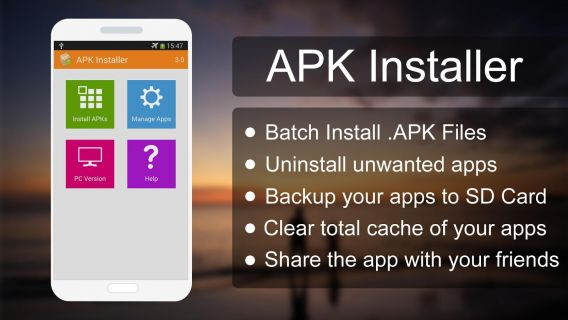 APK Installer Resimleri