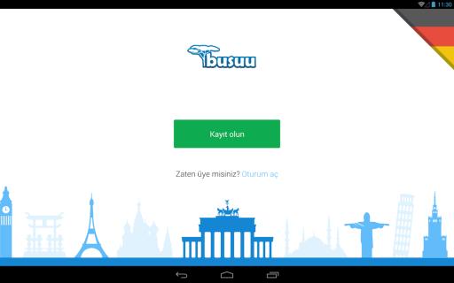 Almanca'yı busuu ile öğrenin Resimleri