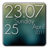 Android Super Clock Wallpaper Free Resim