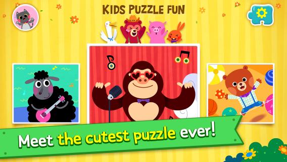 Çocuklar İçin Eğlenceli Puzzle Resimleri