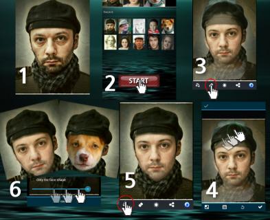 Multi Face Blender Resimleri