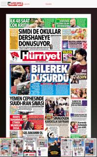 Hürriyet e-gazete Resimleri