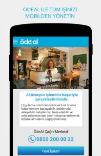 ÖdeAl İşyerim Mobil POS/OdeAL Resimleri