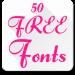 Yazı Tipleri FlipFont 50 #6 Android