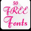 Android Yazı Tipleri FlipFont 50 #6 Resim
