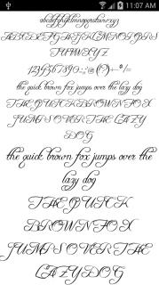 Yazı Tipleri FlipFont 50 #6 Resimleri