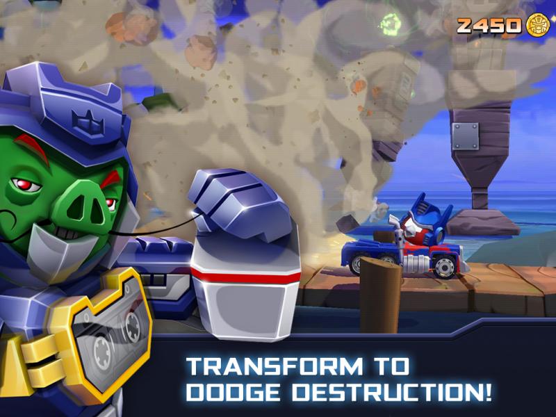 Angry Birds Transformers Android - malavida.com