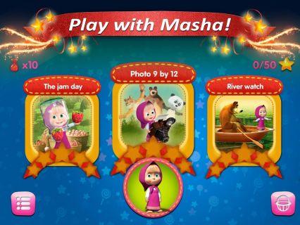 Masha ve Ayı: Oyun Resimleri
