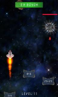 Uzay Fatihi Matematik Oyunu Resimleri