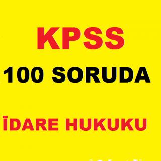 KPSS İdare Hukuku Ders Notları Resimleri