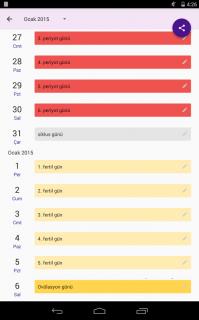 Âdet Takvimi - Period Tracker Resimleri