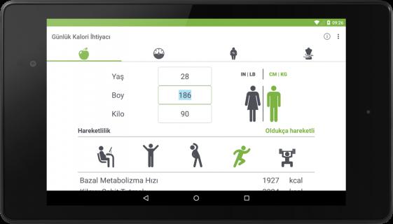 Ideal Kilo Hesaplama VKI (BMI) Resimleri