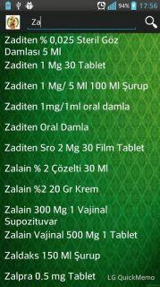 İlaç Prospektüsleri Resimleri