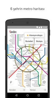 Yandex.Metro Resimleri