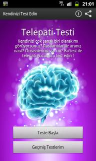 Telepati Testi (ESP) Resimleri