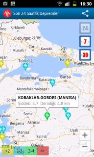 Türkiye'deki Depremler - Canlı Resimleri