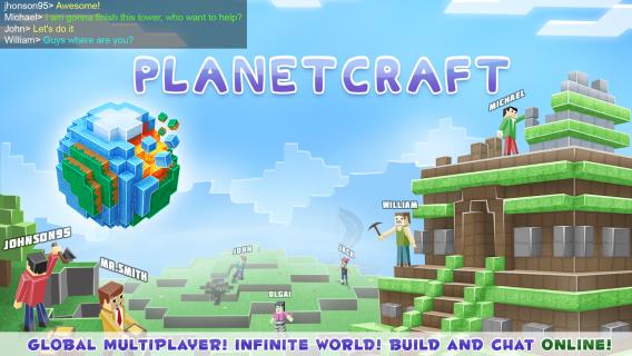 PlanetCraft Resimleri
