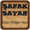 Android Şafak Sayar (Ses+Widget+Not) Resim