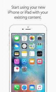 Move to iOS Resimleri
