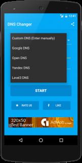DNS Değiştirici (rootsuz) Resimleri