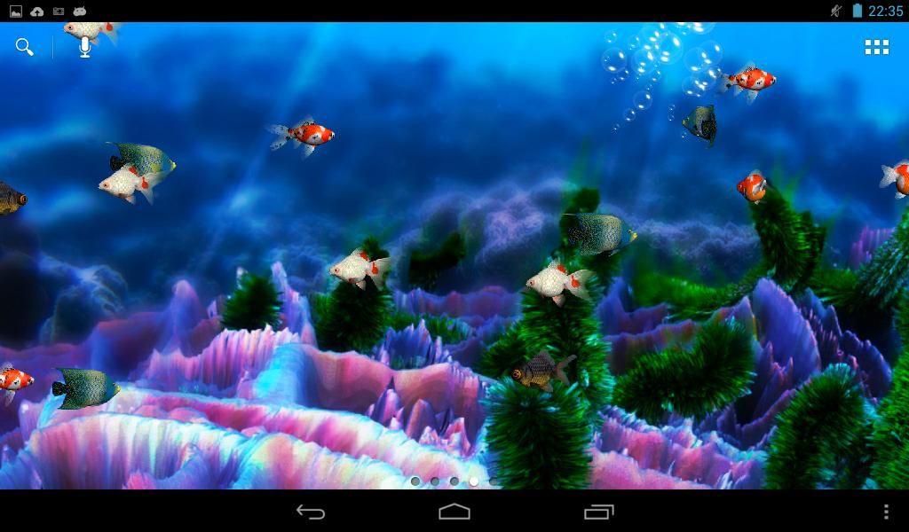 Akvaryum Canlı Duvar Kağıdı İndir Android Gezginler Mobil