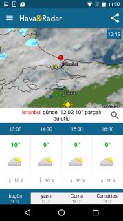 Hava ve Radar Resimleri