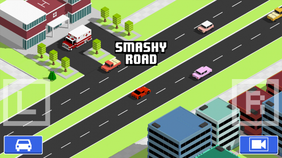 Smashy Road: Wanted Resimleri