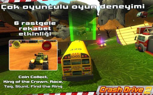 Crash Drive 2 - Multi Oyunu 3d Resimleri