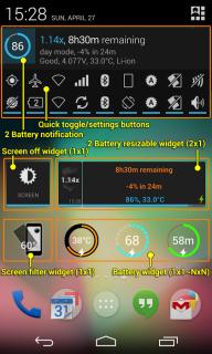 2 Battery - Batarya Tasarrufu Resimleri