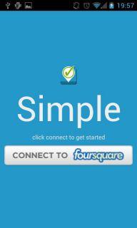 Simple Checkin for Foursquare Resimleri