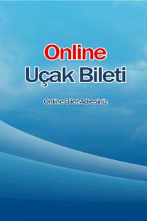 Online Uçak Bileti Resimleri