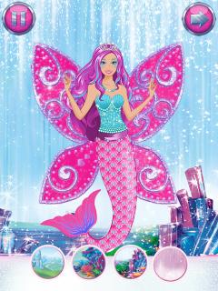 Barbie Büyülü Moda - Giydirme Resimleri