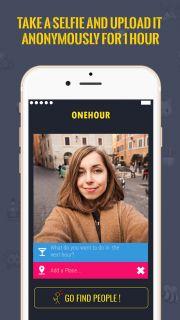 OneHour - Yakınındaki Kişilerle Anonim Olarak Tanış Resimleri