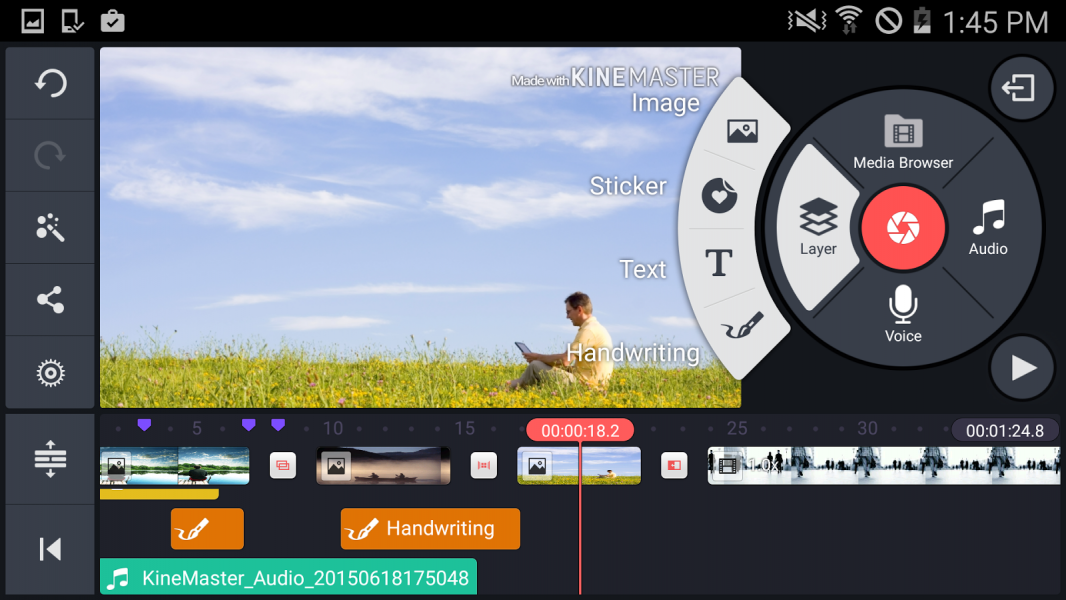 kinemaster video d zenleyici ndir android gezginler mobil. Black Bedroom Furniture Sets. Home Design Ideas