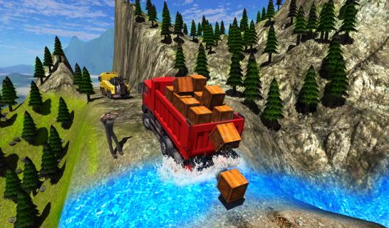 Truck Driver Cargo Resimleri