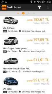 Sixt rent a car Resimleri