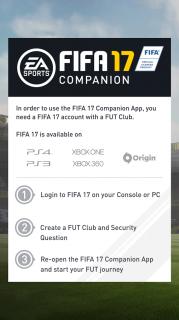 FIFA 17 Companion Resimleri