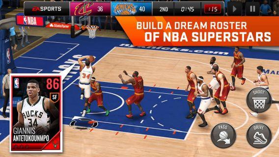 NBA LIVE Mobile Basketball Resimleri