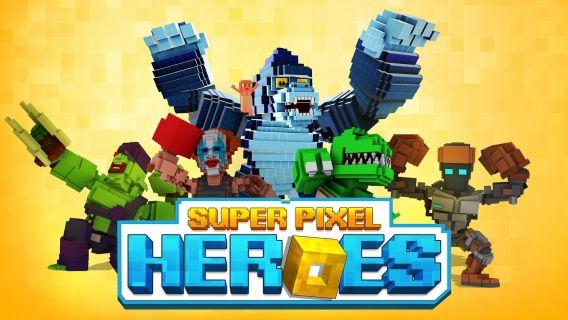 Super Pixel Heroes Resimleri